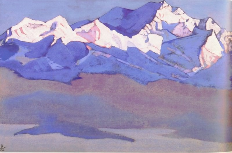Kanchenjunga # 34. Roerich N.K. (Part 3)