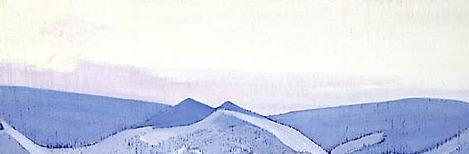 Bogdo-Ul. Morning. Roerich N.K. (Part 3)