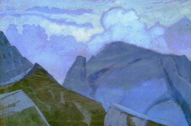Vertices in clouds. Roerich N.K. (Part 3)