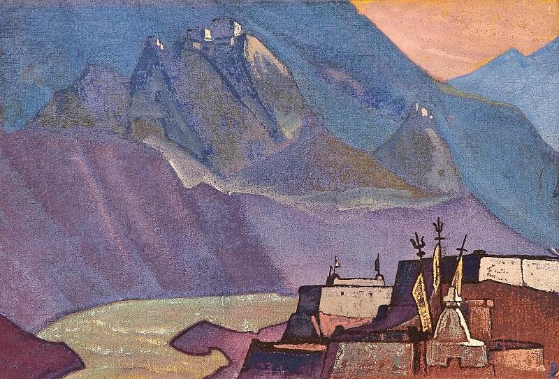 Chandra # 30 (River Chandra). Roerich N.K. (Part 3)