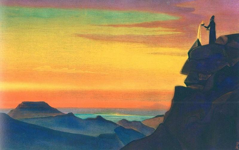 Zoroaster # 36 (Zarathustra). Roerich N.K. (Part 3)