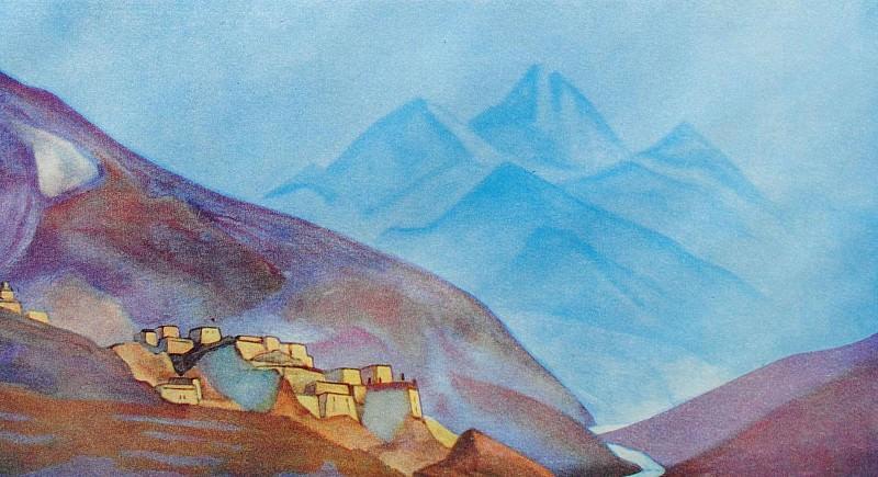 Lahul # 39 (Lahul. Himalaya). Roerich N.K. (Part 3)
