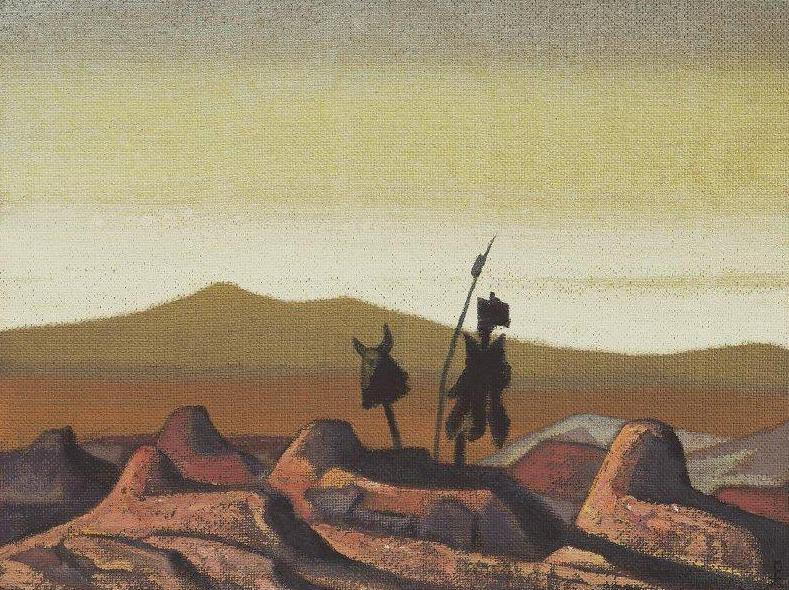 Mongolia (Graves desert). Roerich N.K. (Part 3)