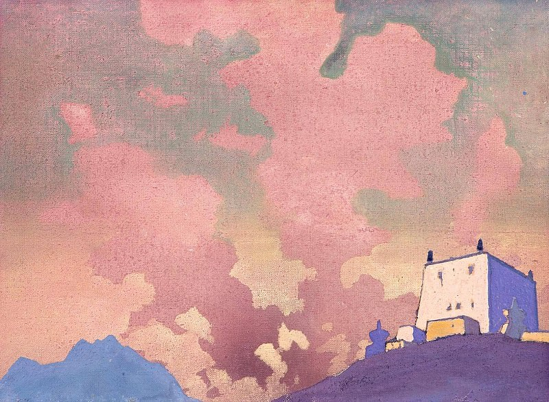 Gompa # 11. Roerich N.K. (Part 3)
