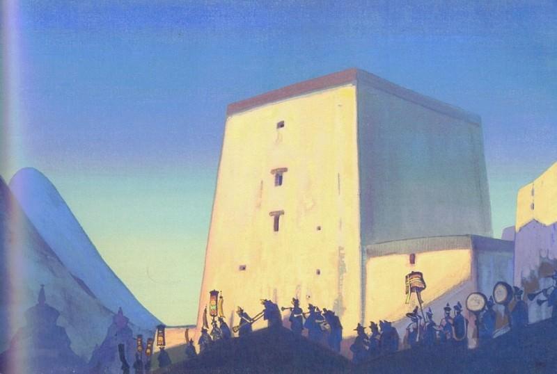 Procession AM # 59 (55). Roerich N.K. (Part 3)