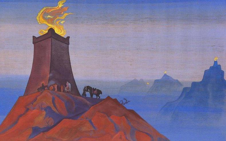 Timur Flowers (Lights of Victory). Roerich N.K. (Part 3)