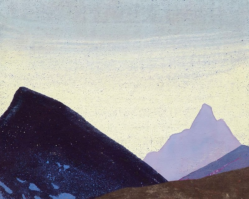 Mountain etude (6). Roerich N.K. (Part 3)