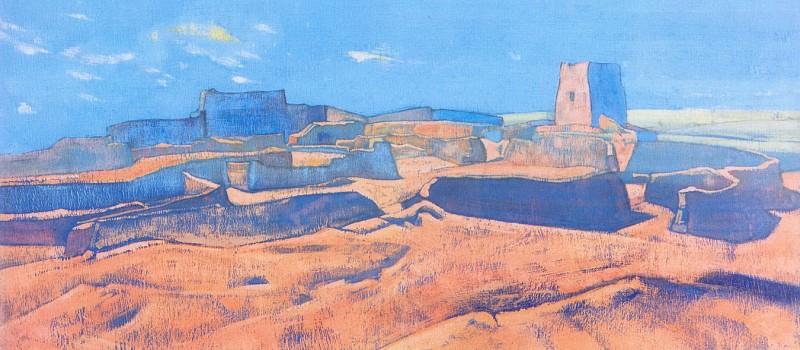 City Ja Lama. Mongolia. Roerich N.K. (Part 3)