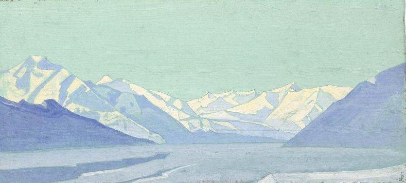 Himalayas. Lake Baralacha. Roerich N.K. (Part 3)