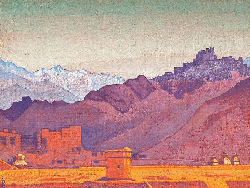 Path to Tibet. Roerich N.K. (Part 3)