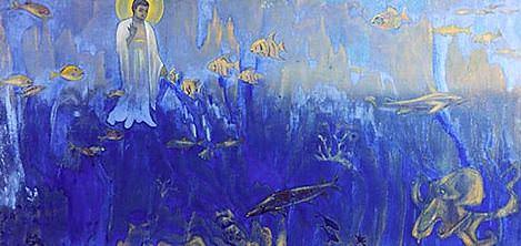 Tester Buddha (the Buddha in the underwater kingdom). Roerich N.K. (Part 3)