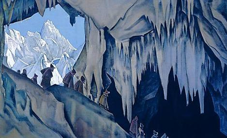 Chudes underground. Roerich N.K. (Part 3)