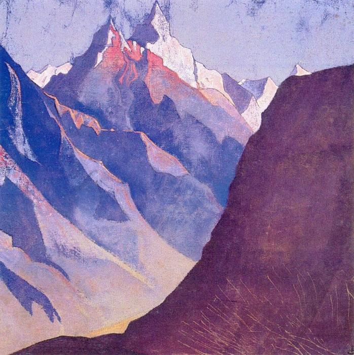 M Mountain # 5],. Roerich N.K. (Part 3)