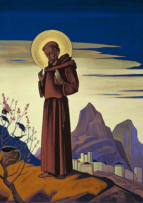 St. Francis # 25. Roerich N.K. (Part 3)
