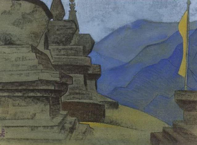 Suburgans. Tashiding # 51. Roerich N.K. (Part 3)