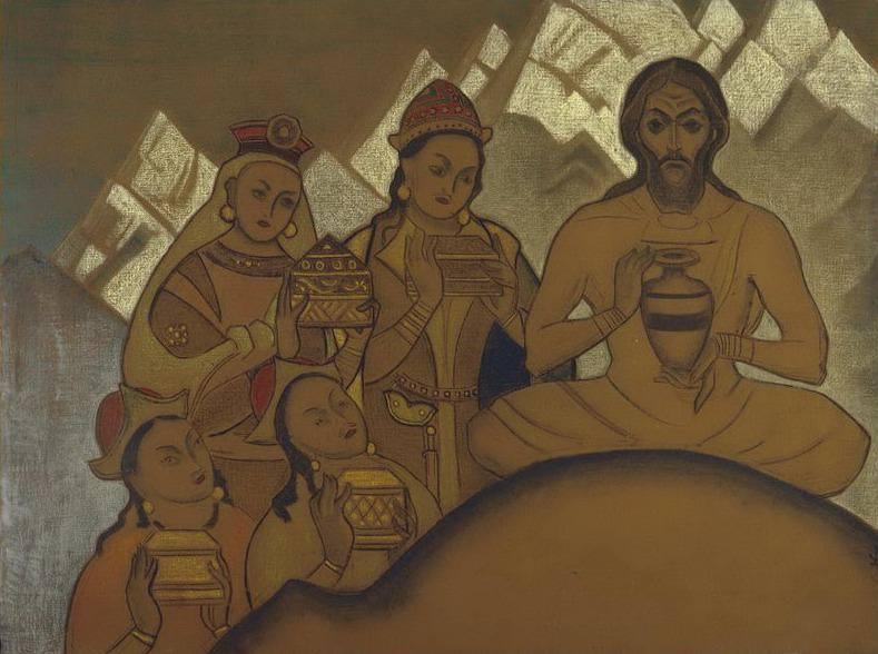 Святое Приношение #32 (Священный дар). Рерих Н.К. (Часть 3)