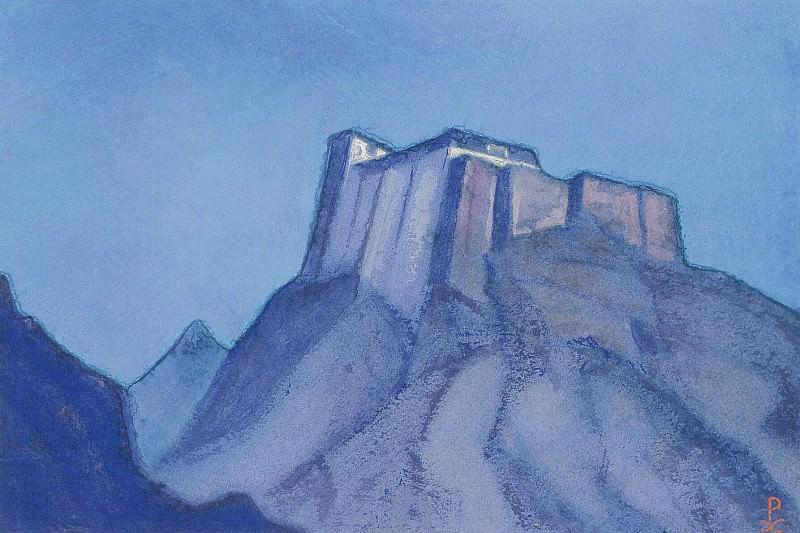 Stronghold Tibet (sketch). Roerich N.K. (Part 3)