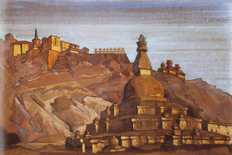 Big stupa in Chez. Roerich N.K. (Part 3)
