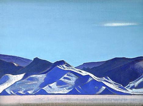 Bogdo-Ula. Mongolia. Roerich N.K. (Part 3)
