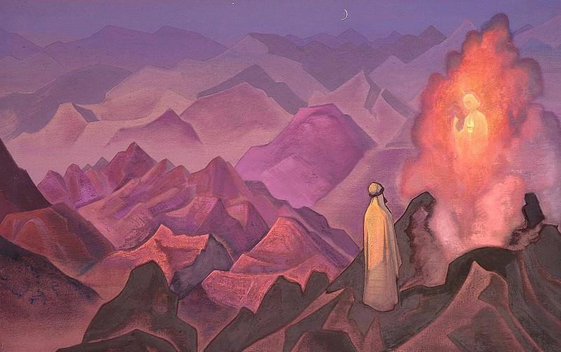 Mohammed # 38 (Prophet Mohammed). Roerich N.K. (Part 3)