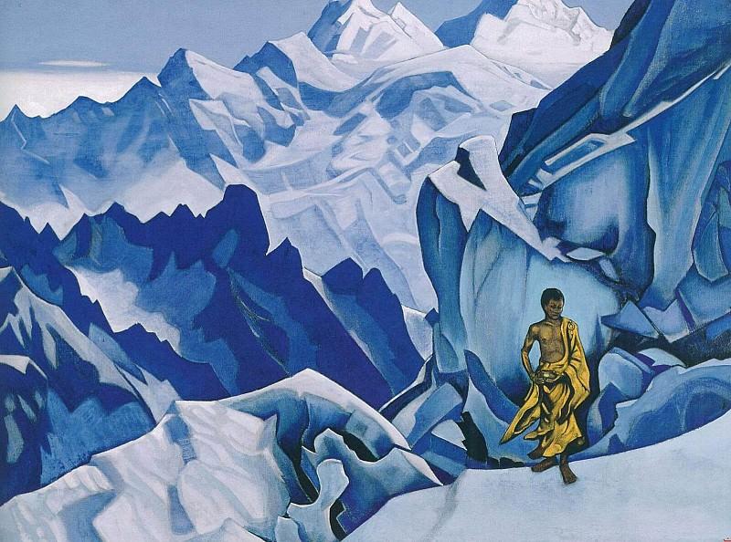 Vessel neraspleskanny. Roerich N.K. (Part 3)