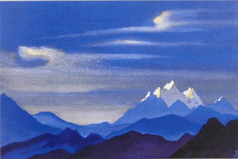 Snow tops (2). Roerich N.K. (Part 3)