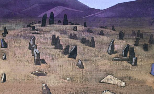 Doring. Tibetan mengir. Roerich N.K. (Part 3)