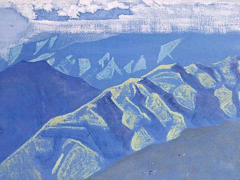 Clear night # 64. Roerich N.K. (Part 3)