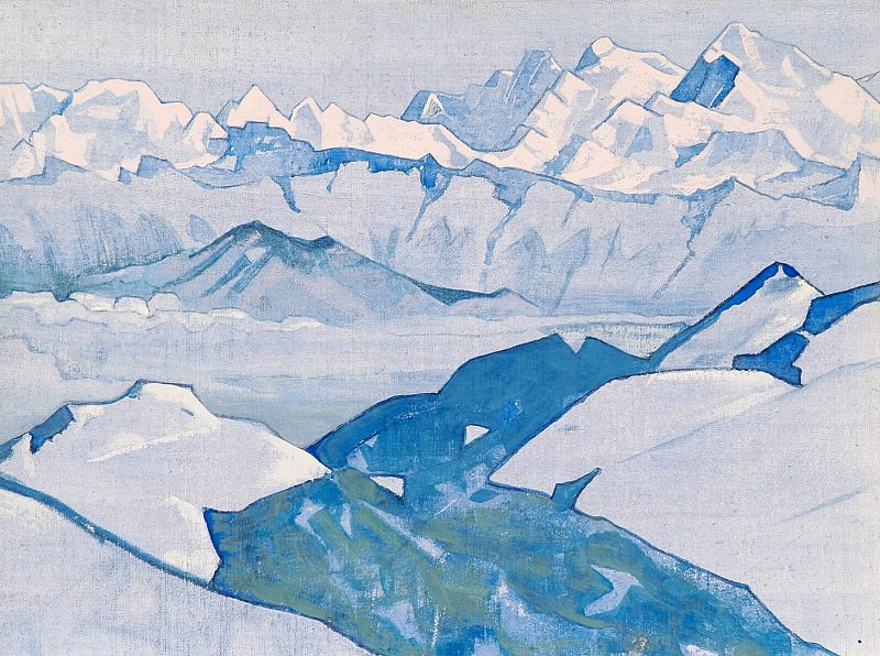 Ridge Everest # 58. Roerich N.K. (Part 3)