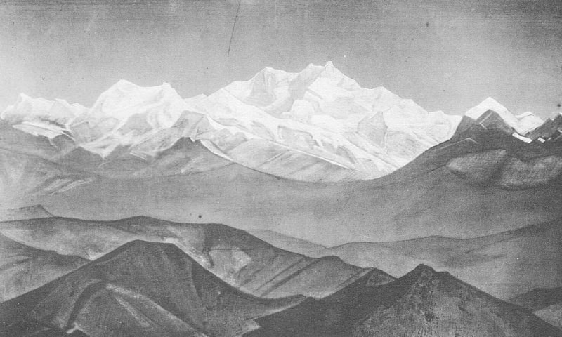 The Himalayas (Kanchenjunga). Roerich N.K. (Part 3)