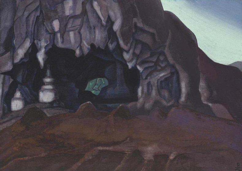 Sacred Cave # 4. Roerich N.K. (Part 3)