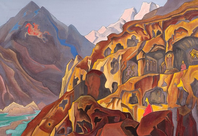 Holy Caves # 19. Roerich N.K. (Part 3)
