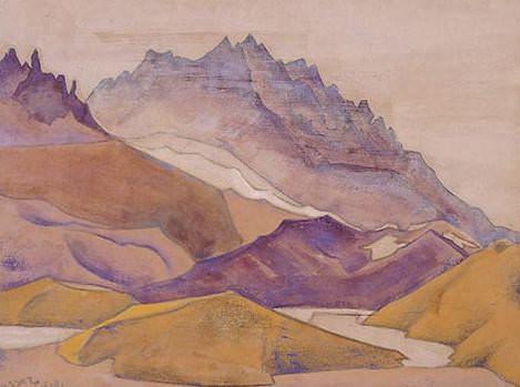 Sasser, 16.600 feet. Roerich N.K. (Part 3)