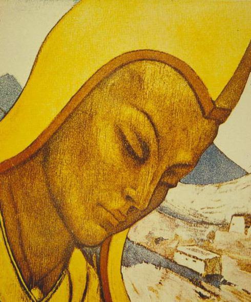 Lama Tibet. Roerich N.K. (Part 3)
