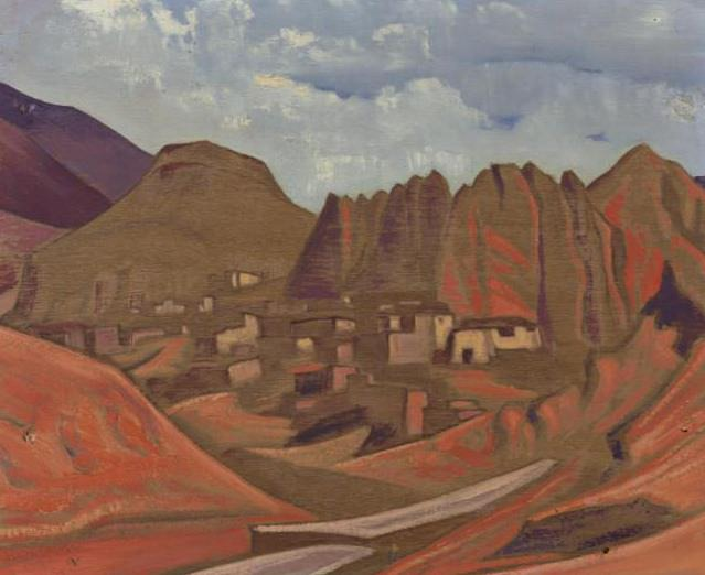 Sandoling (Lamayuru?). Roerich N.K. (Part 3)