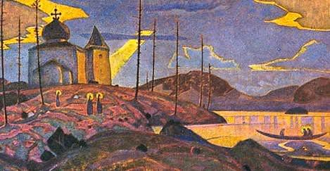 The Saints visit # 6. Roerich N.K. (Part 3)