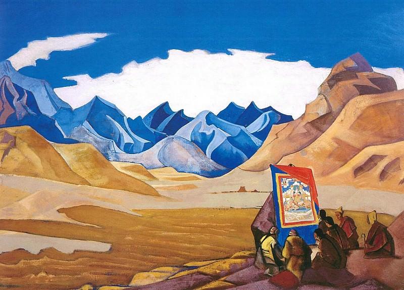 Banner coming. Roerich N.K. (Part 3)