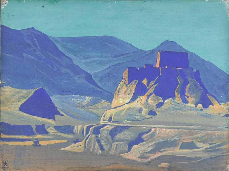 Mountain landscape. Roerich N.K. (Part 3)