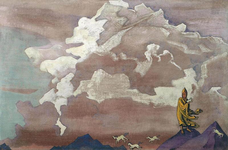 White horses. Roerich N.K. (Part 3)