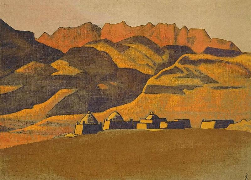 Kyrgyz mazar. Sanju. Roerich N.K. (Part 3)
