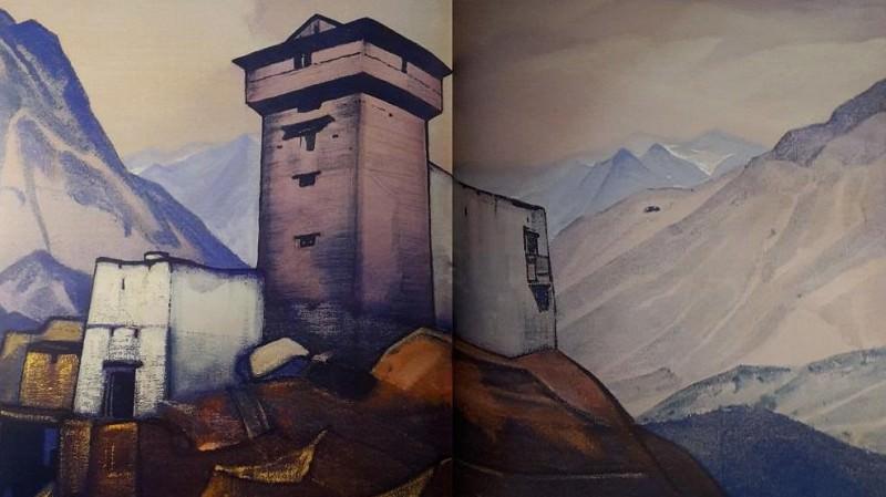 Thakur Residence # 74. Roerich N.K. (Part 3)
