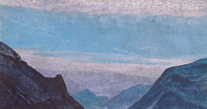 Mountain etude (4). Roerich N.K. (Part 3)