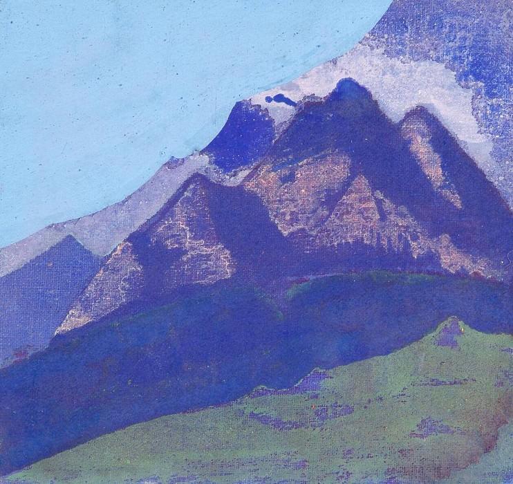 Mountain sketch (2). Roerich N.K. (Part 3)