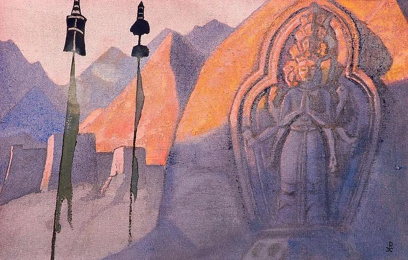 Chenrezig # 29. Roerich N.K. (Part 3)