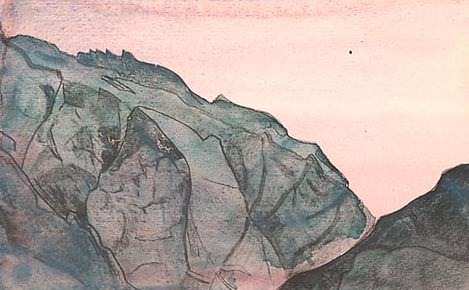 Mountain Bells # 97 (landscape page). Roerich N.K. (Part 3)