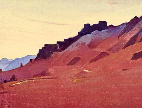 City City in Little Tibet (Red City). Roerich N.K. (Part 3)