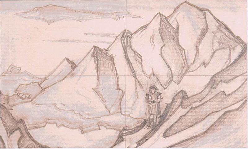 The man in the mountains. Roerich N.K. (Part 3)