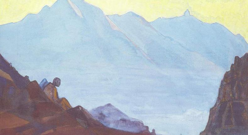 Mountain Dukhovny Resting. Roerich N.K. (Part 3)