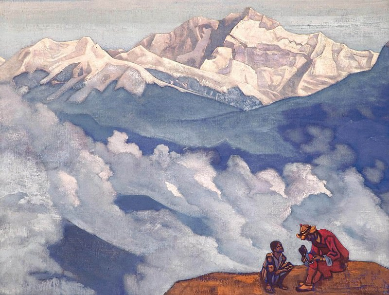 Pearls searching # 3. Roerich N.K. (Part 3)