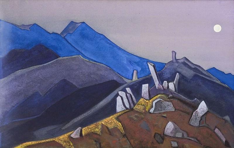 Menhirs Himalayas # 27. Roerich N.K. (Part 3)